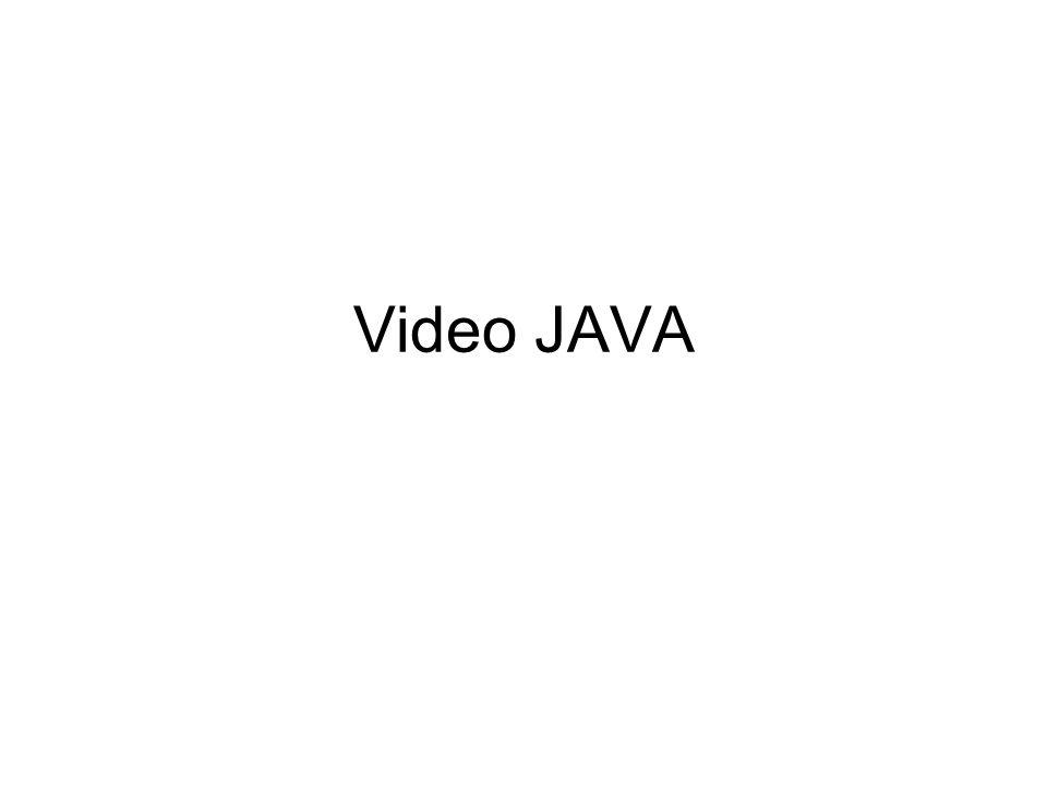 Video JAVA