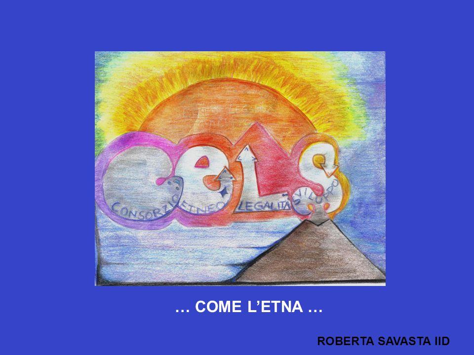 … COME L'ETNA … ROBERTA SAVASTA IID