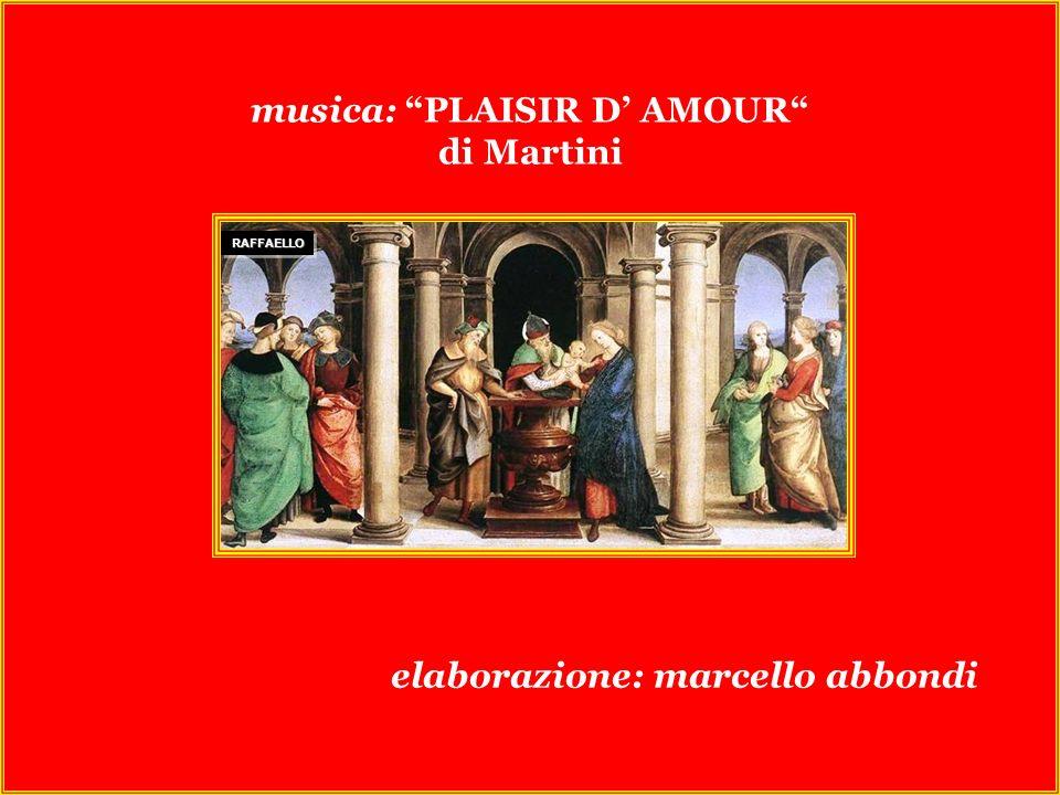 musica: PLAISIR D' AMOUR