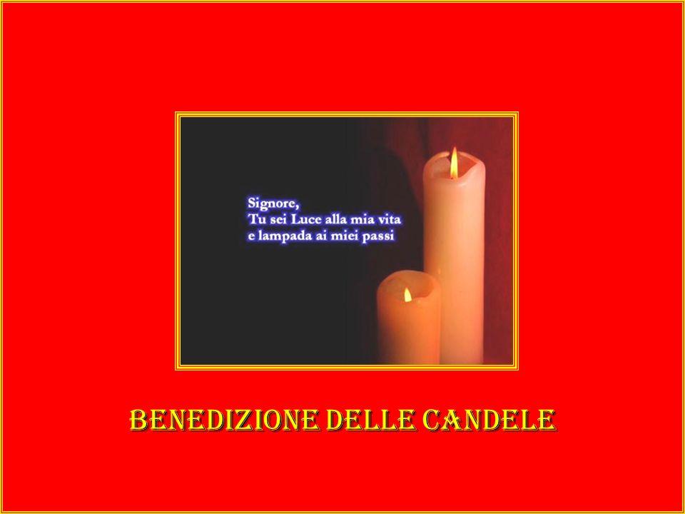 Benedizione delle candele