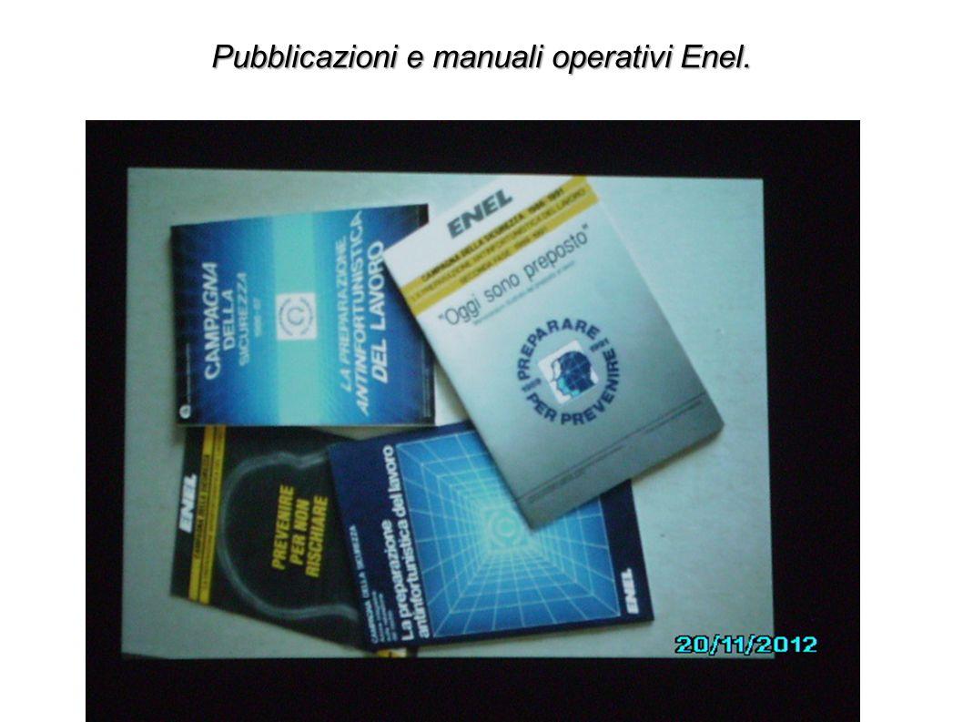 Pubblicazioni e manuali operativi Enel.