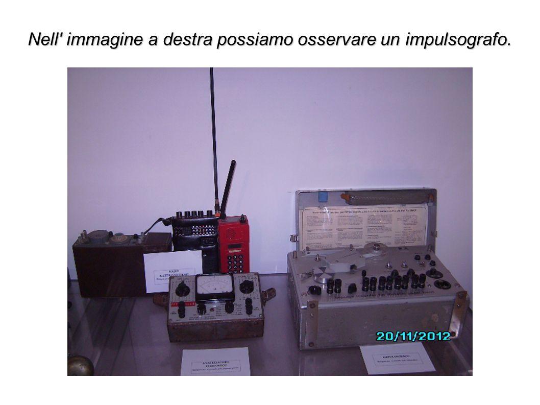 Nell immagine a destra possiamo osservare un impulsografo.