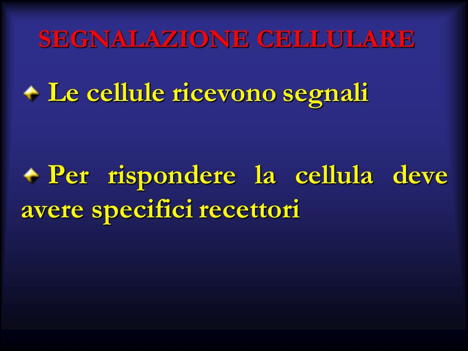 SEGNALAZIONE CELLULARE