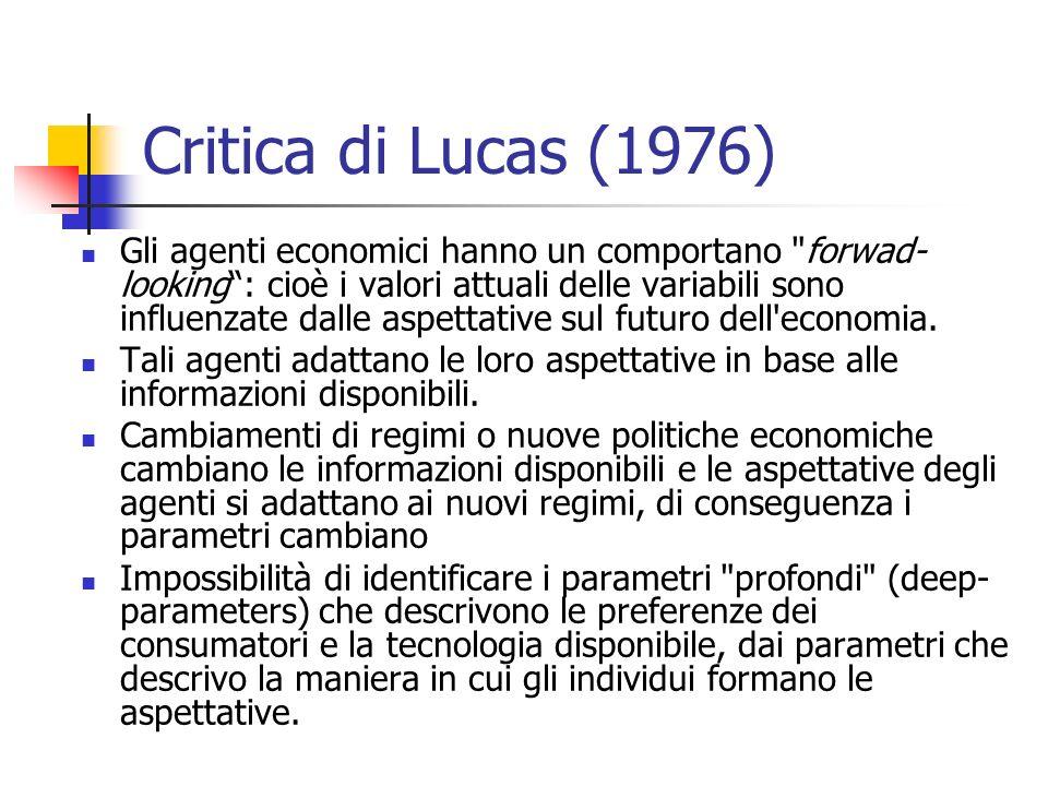 Critica di Lucas (1976)