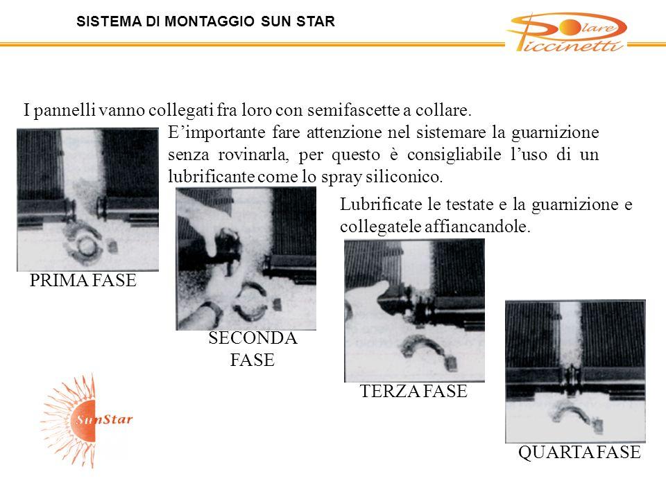 SISTEMA DI MONTAGGIO SUN STAR