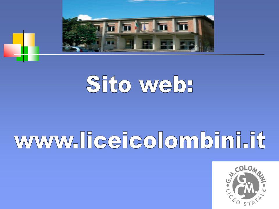 Sito web: www.liceicolombini.it