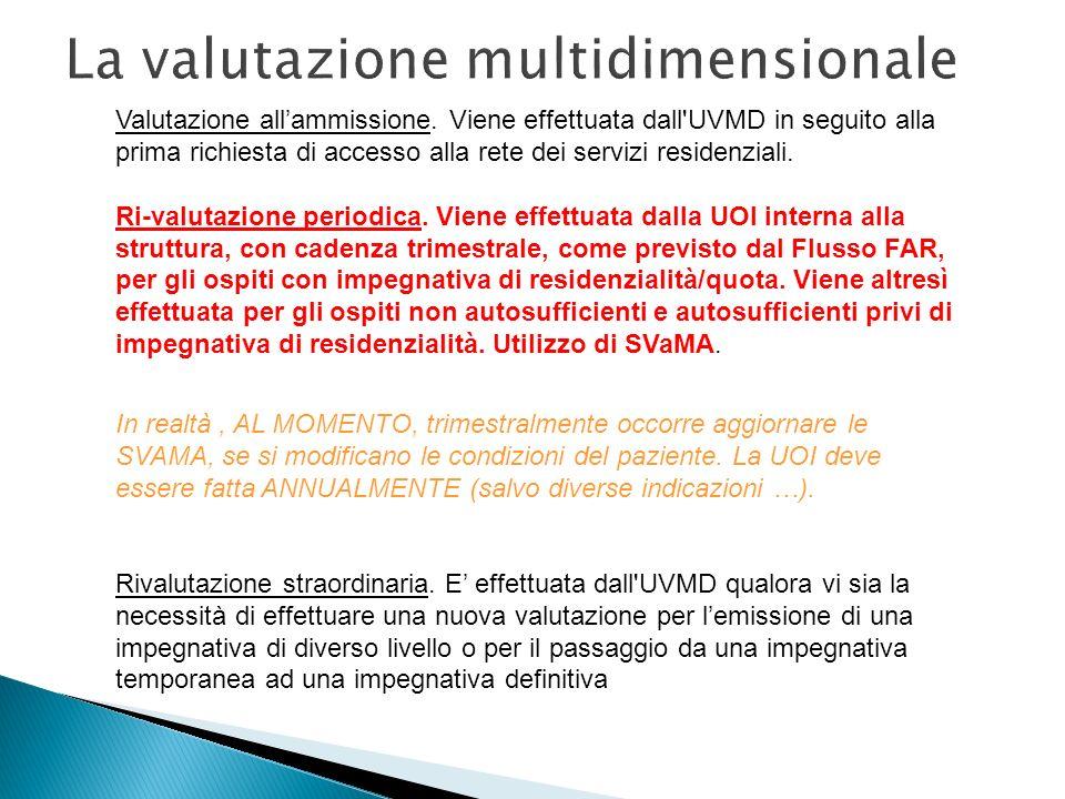 La valutazione multidimensionale