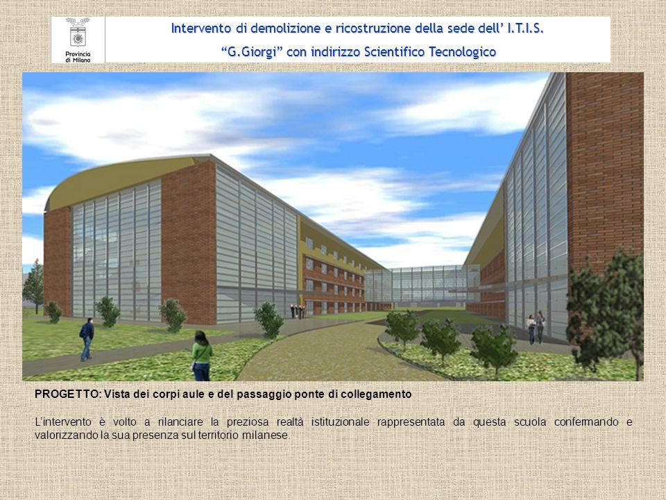 Intervento di demolizione e ricostruzione della sede dell' I.T.I.S.
