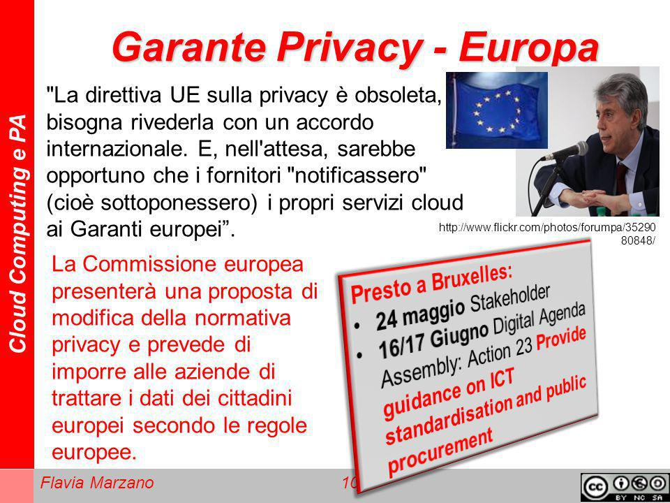 Garante Privacy - Europa