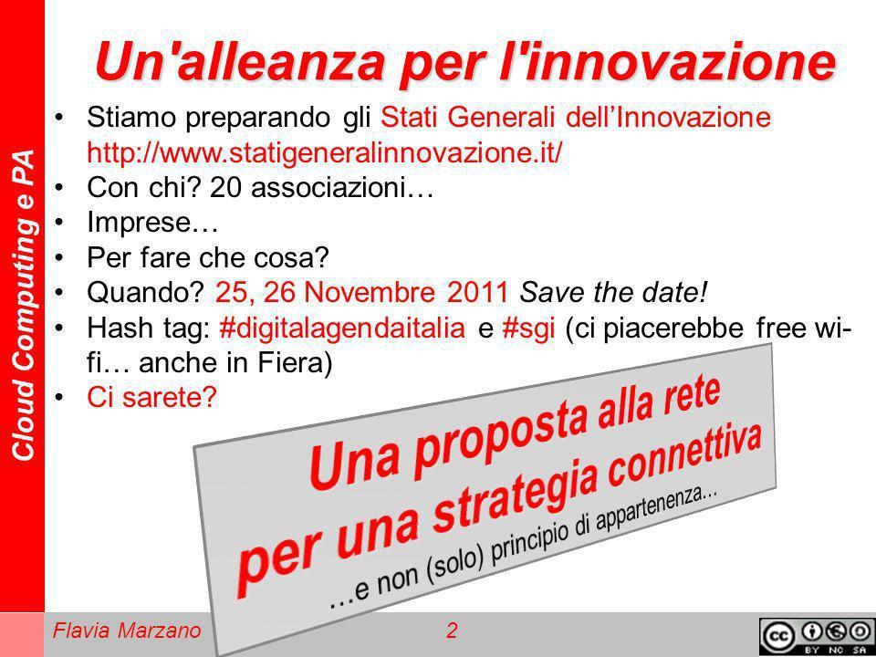 Un alleanza per l innovazione