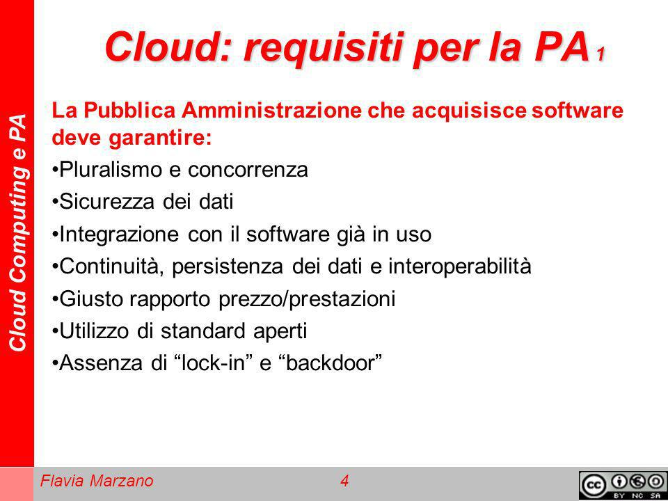Cloud: requisiti per la PA 1
