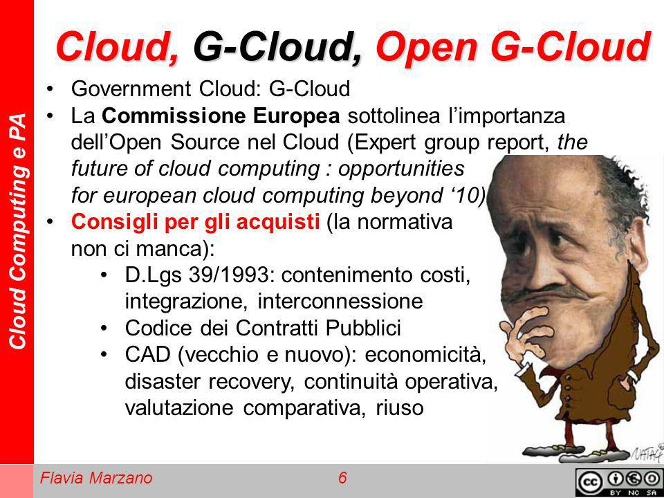 Cloud, G-Cloud, Open G-Cloud