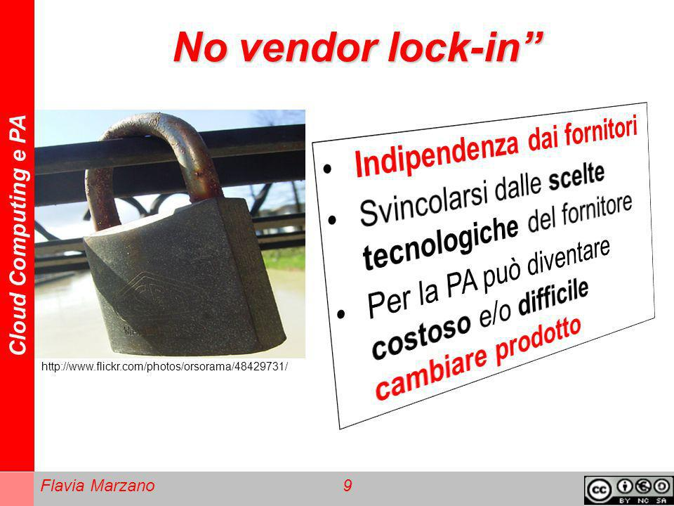 No vendor lock-in Indipendenza dai fornitori
