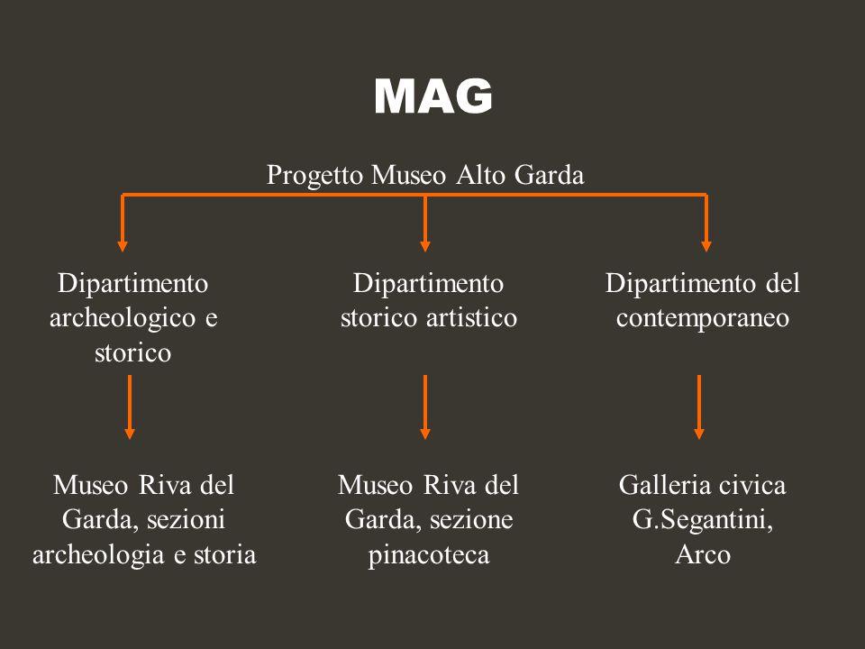MAG Progetto Museo Alto Garda Dipartimento archeologico e storico