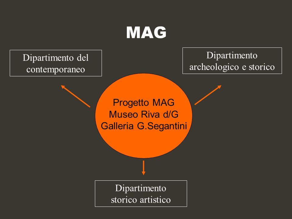 MAG Dipartimento archeologico e storico Dipartimento del contemporaneo