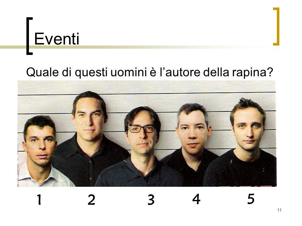 Quale di questi uomini è l'autore della rapina