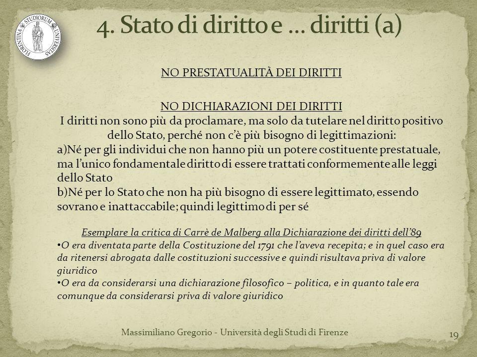 4. Stato di diritto e … diritti (a)