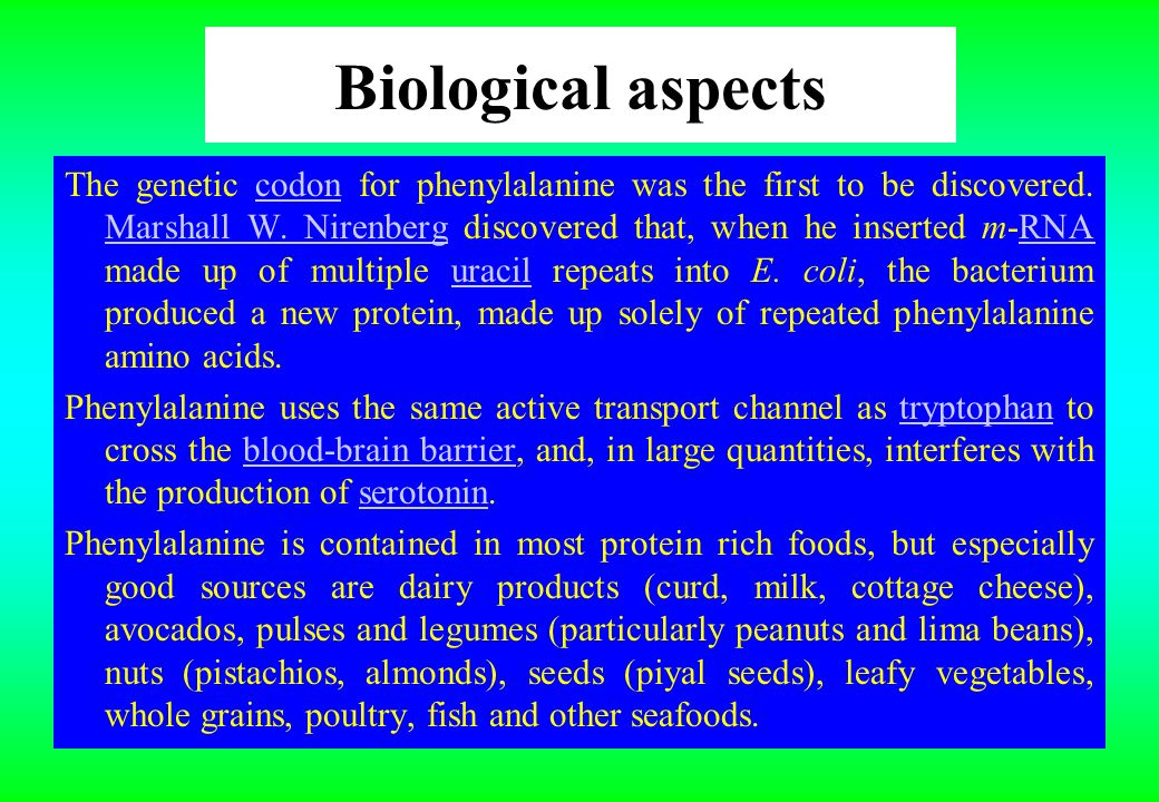 Biological aspects