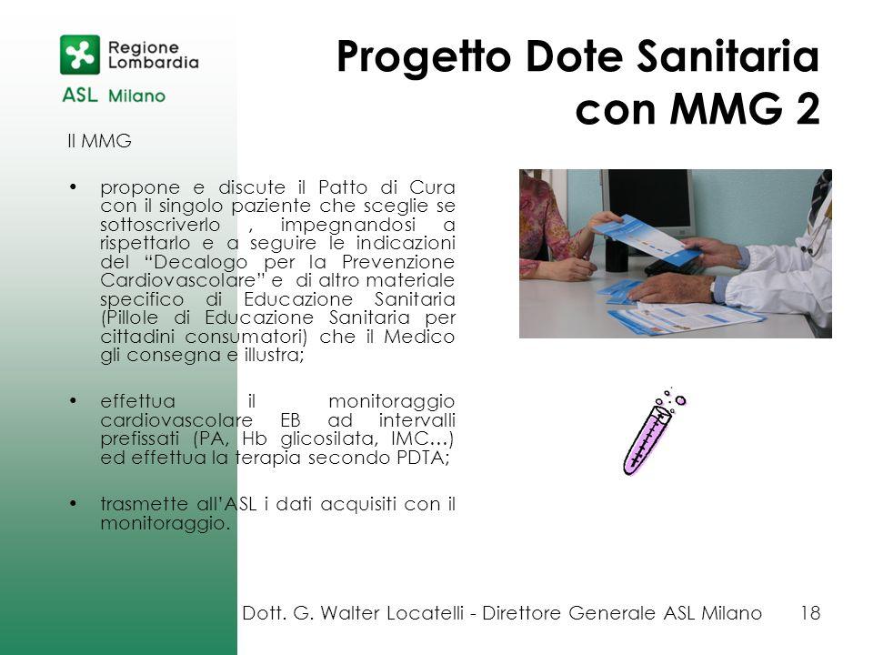 Progetto Dote Sanitaria con MMG 2