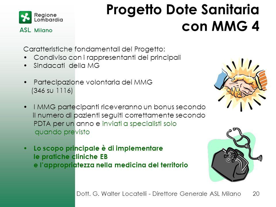 Progetto Dote Sanitaria con MMG 4