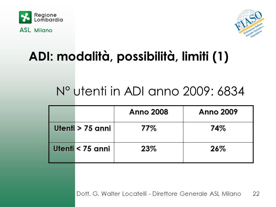 ADI: modalità, possibilità, limiti (1)