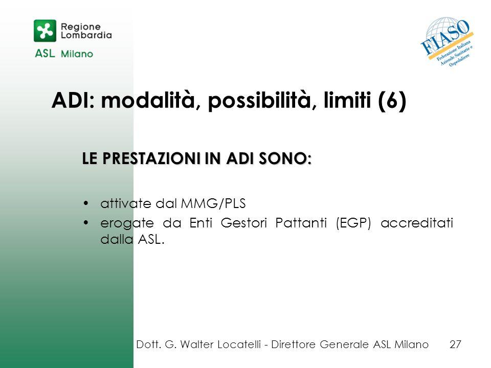 ADI: modalità, possibilità, limiti (6)