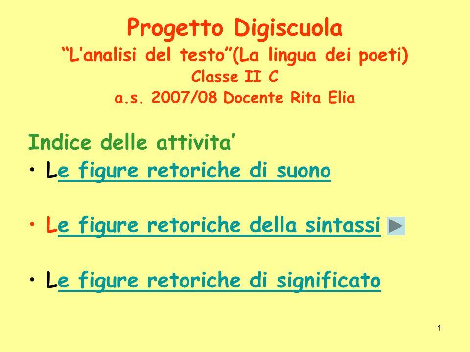 L'analisi del testo (La lingua dei poeti)