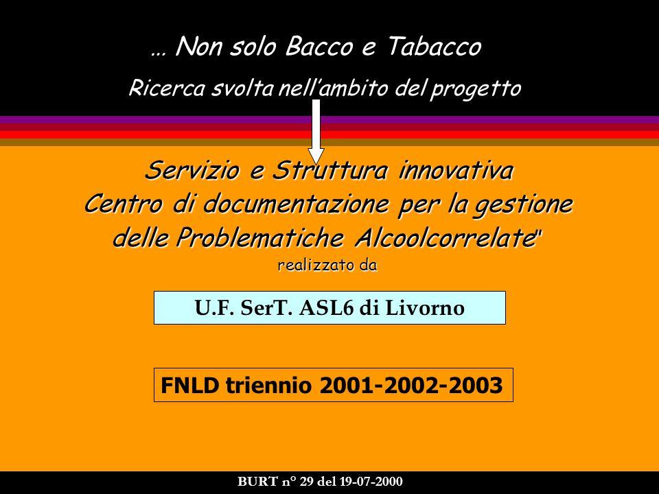 … Non solo Bacco e Tabacco