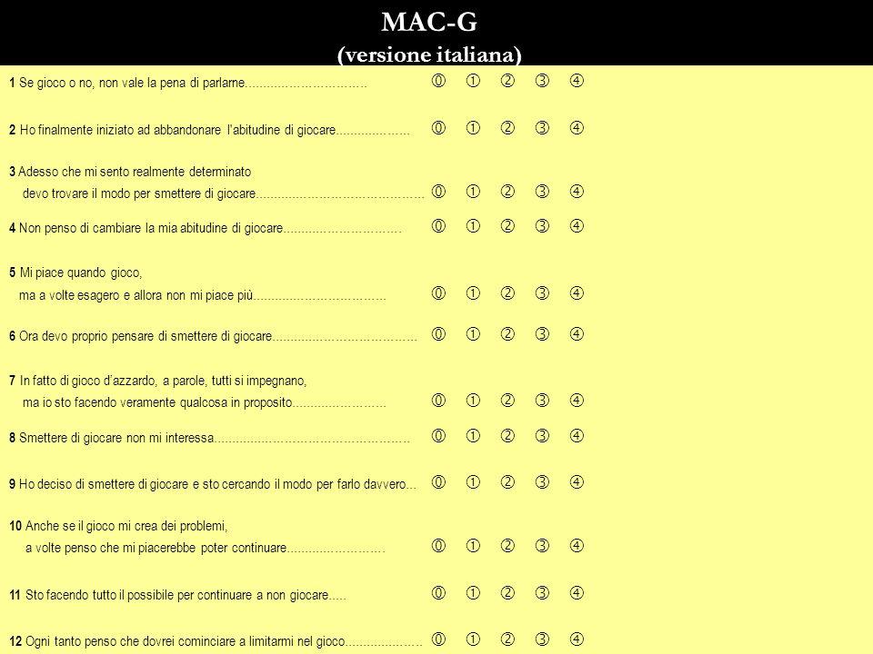 MAC-G (versione italiana)