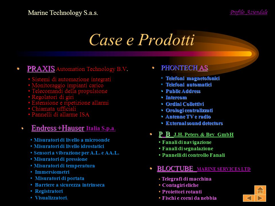 Case e Prodotti PRAXIS Automation Technology B.V.