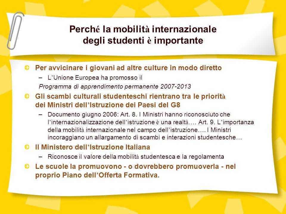Perché la mobilità internazionale degli studenti è importante