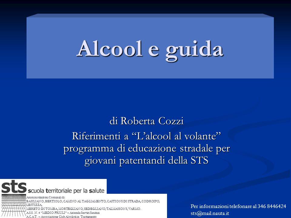 Alcool e guida di Roberta Cozzi