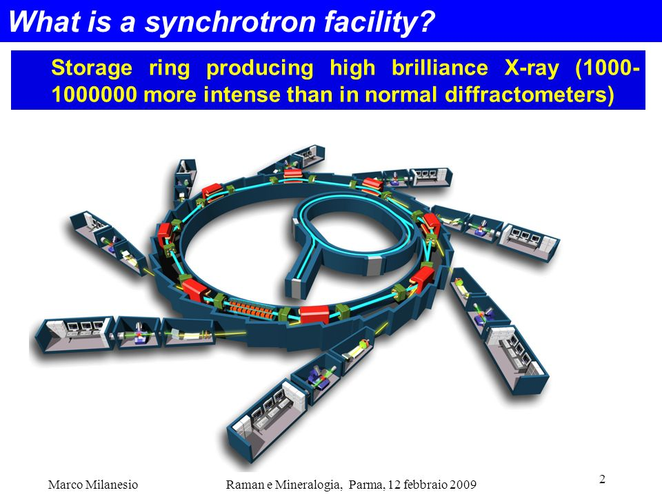 What is a synchrotron facility