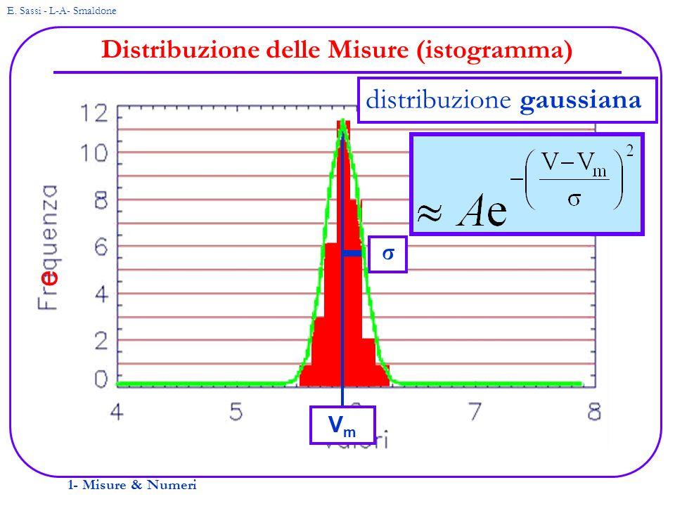 Distribuzione delle Misure (istogramma)