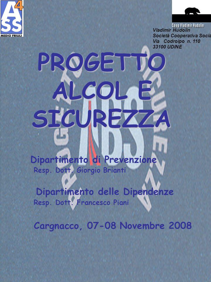 PROGETTO ALCOL E SICUREZZA