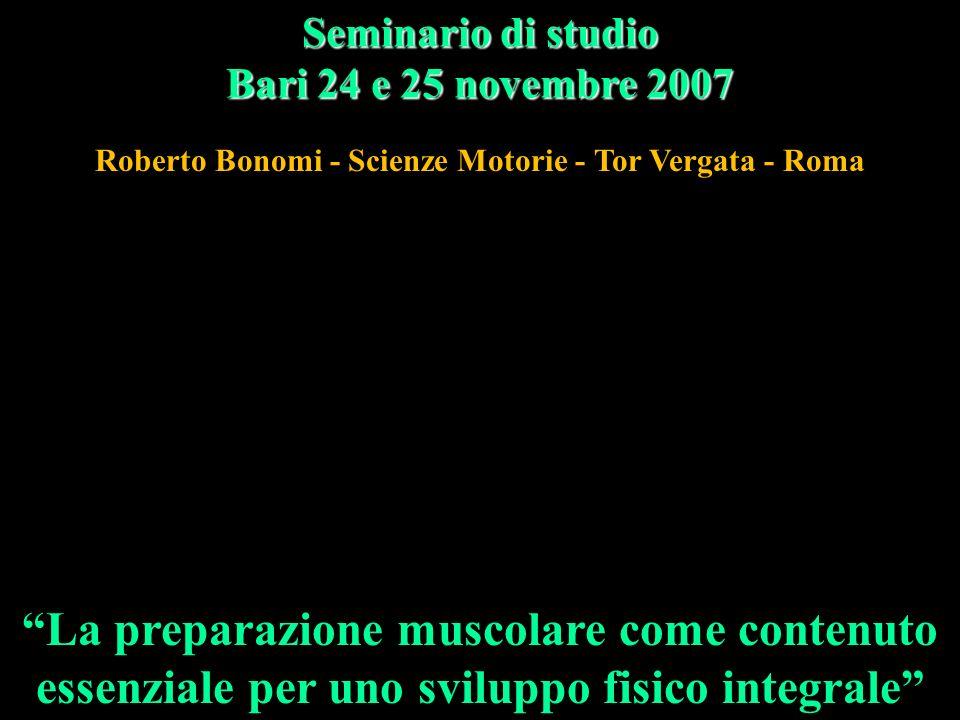 Roberto Bonomi - Scienze Motorie - Tor Vergata - Roma
