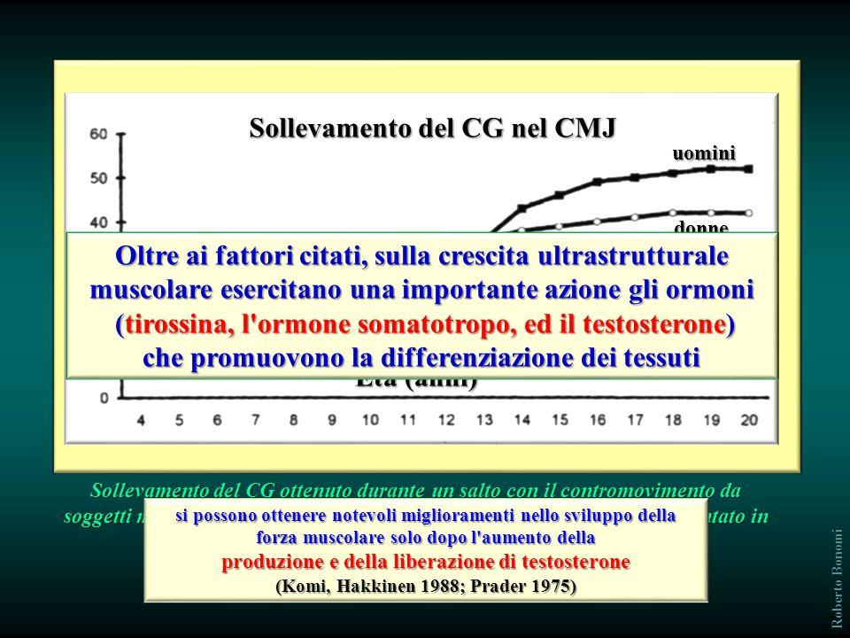 Sollevamento del CG nel CMJ