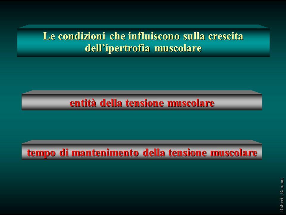 Le condizioni che influiscono sulla crescita dell'ipertrofia muscolare