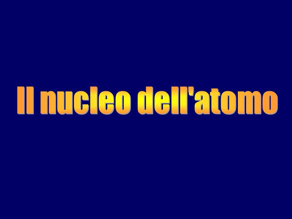 Il nucleo dell atomo