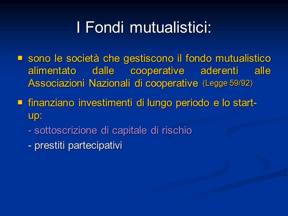 I Fondi mutualistici: