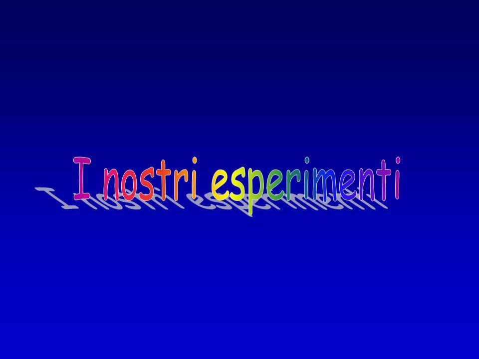 I nostri esperimenti