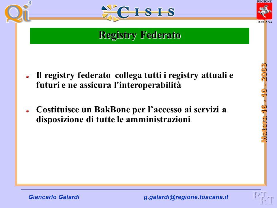 Registry Federato RT RT