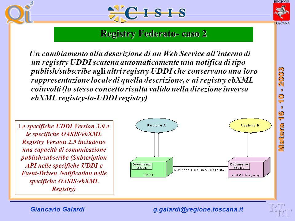 Registry Federato- caso 2