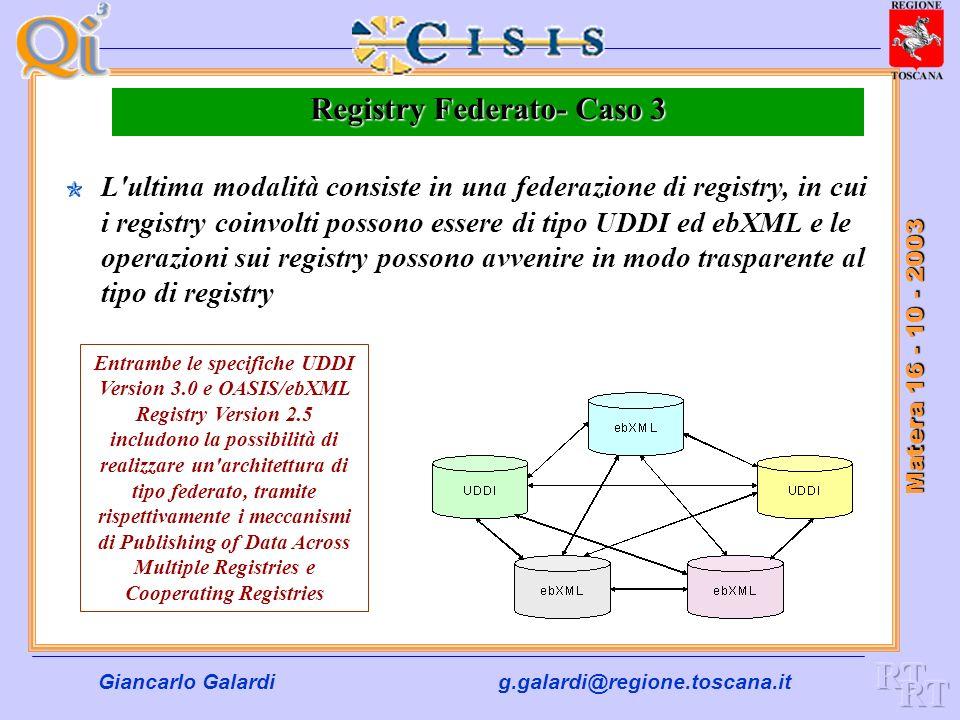 Registry Federato- Caso 3