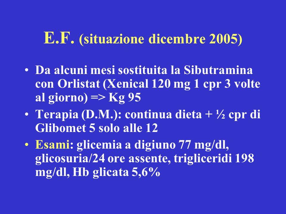 E.F. (situazione dicembre 2005)