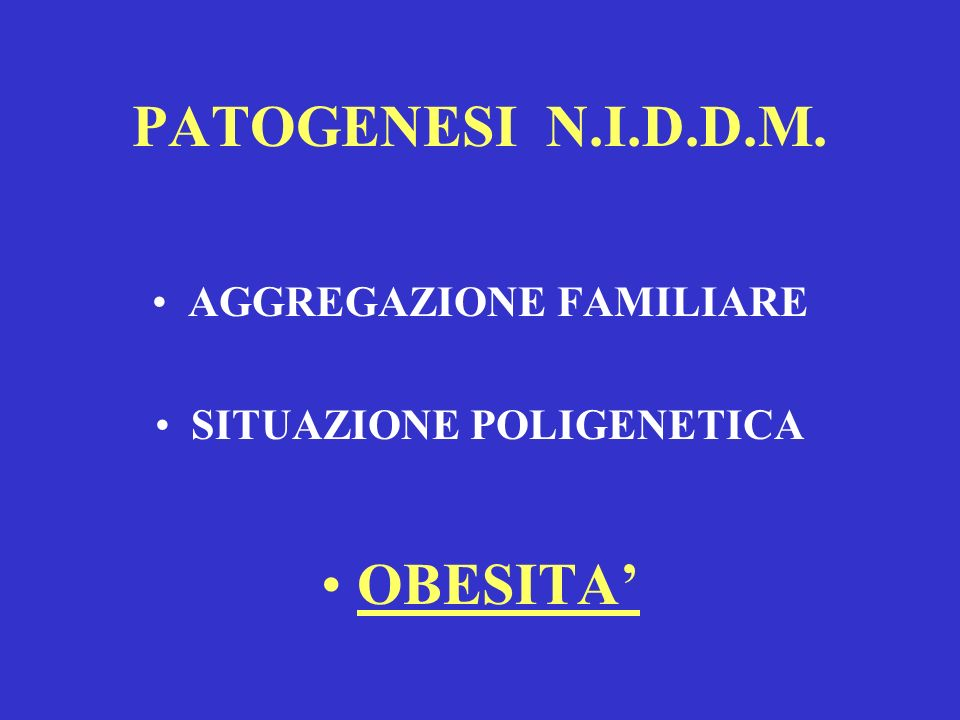 AGGREGAZIONE FAMILIARE SITUAZIONE POLIGENETICA