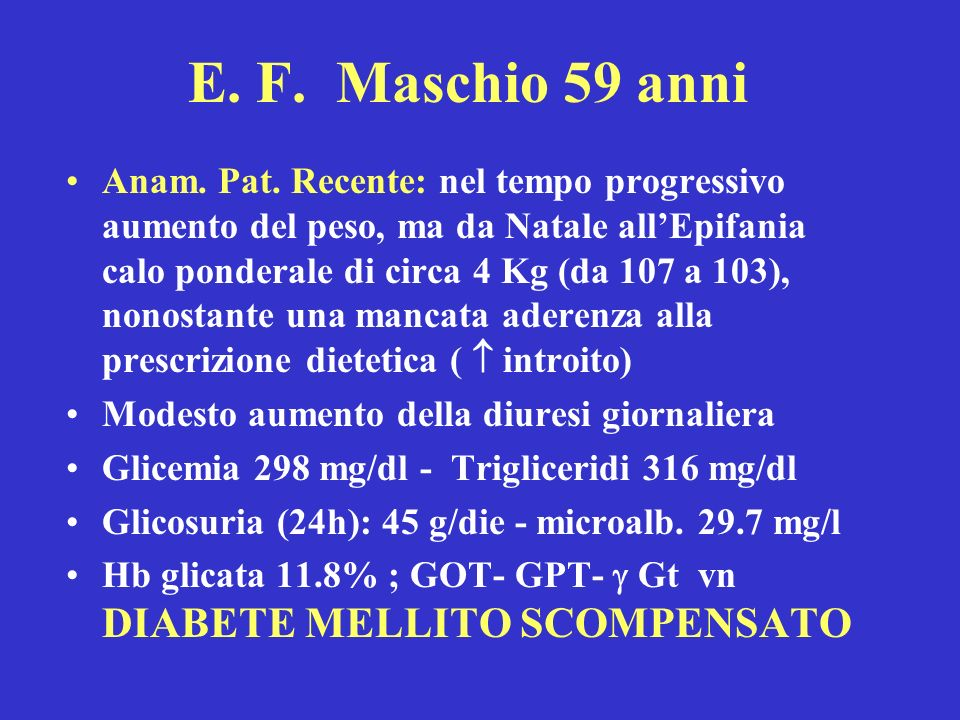 E. F. Maschio 59 anni