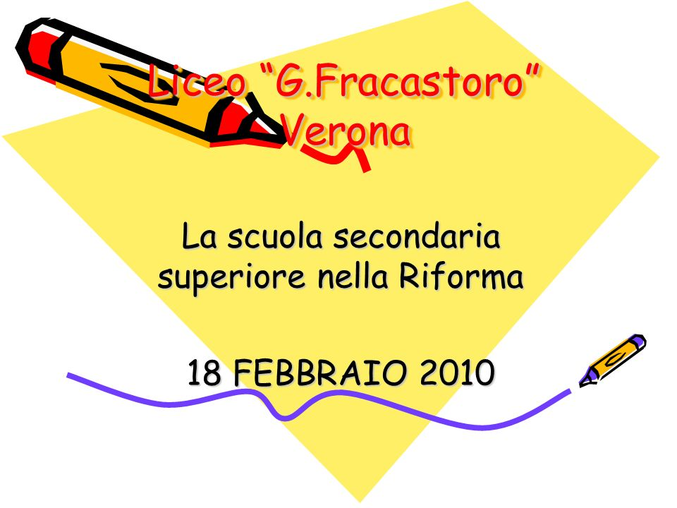 Liceo G.Fracastoro Verona