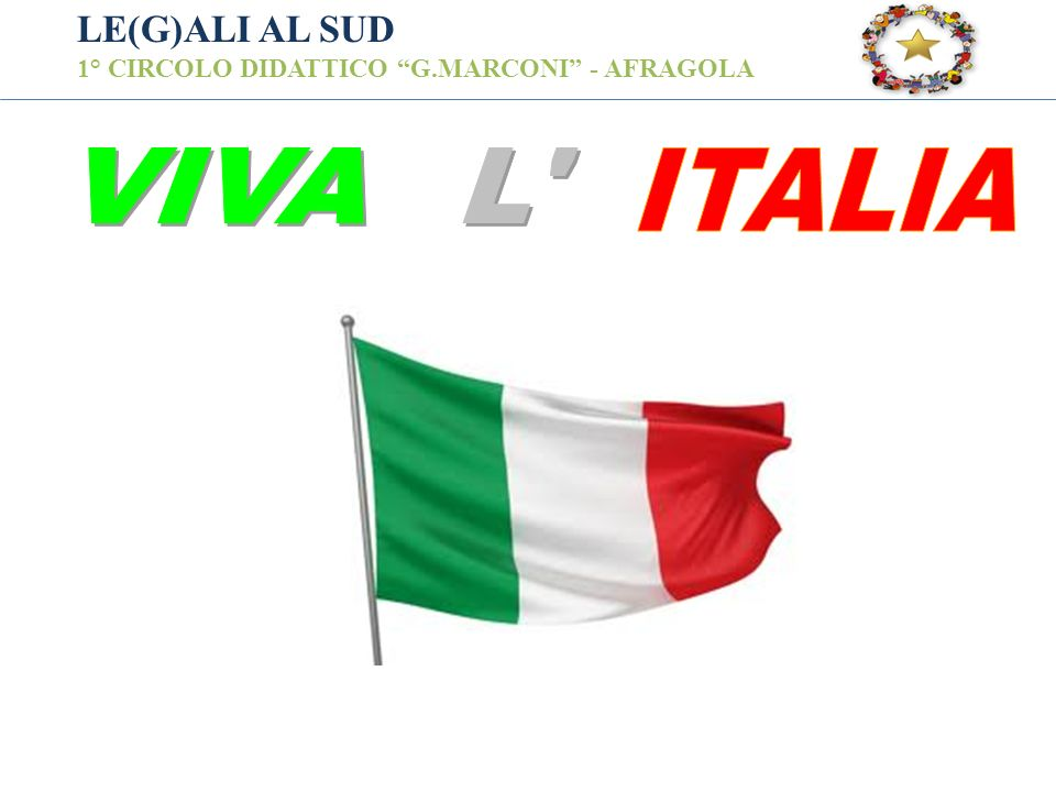 VIVA L ITALIA LE(G)ALI AL SUD