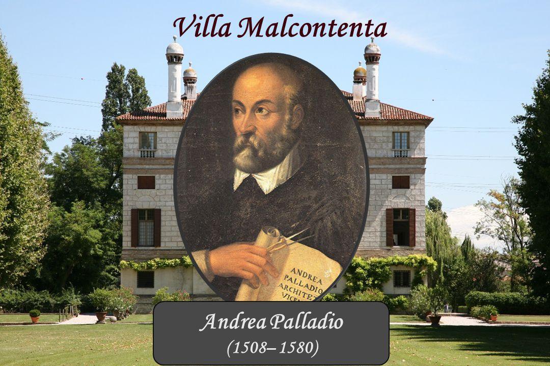 Villa Malcontenta Brenta Kanaal Andrea Palladio (1508– 1580)